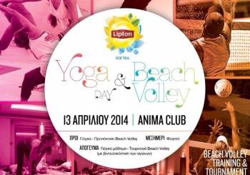 LIPTON Beach volley & Yoga day