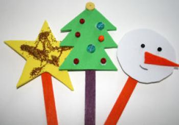 Xριστουγεννιάτικα στολίδια για τα παιδιά