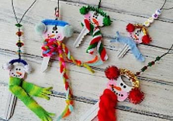 Φτιάξτε Χριστουγεννιάτικα στολίδια από κλειδιά που δεν χρειάζεστε!
