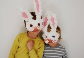 Όμορφες Πασχαλινές μάσκες για τα παιδιά