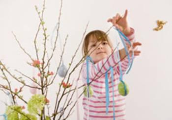 Πως θα φτιάξετε ένα Πασχαλινό δένδρο!
