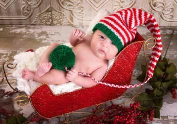 Τα πρώτα Χριστούγεννα του μωρού